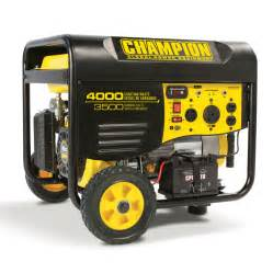 Costco Bathroom Accessories by Shop Champion Power Equipment 3500 Running Watt Portable