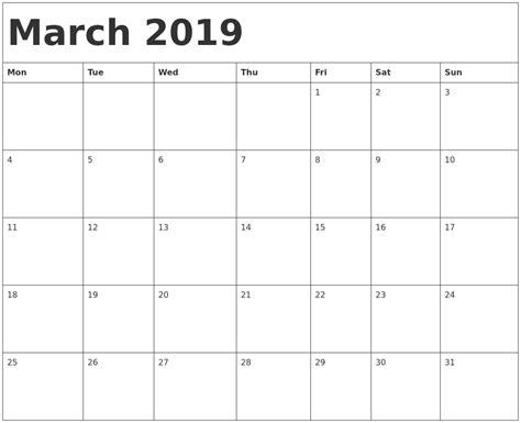 printable calendar april 2018 to march 2019 march 2019 calendar template 2018 calendar printable
