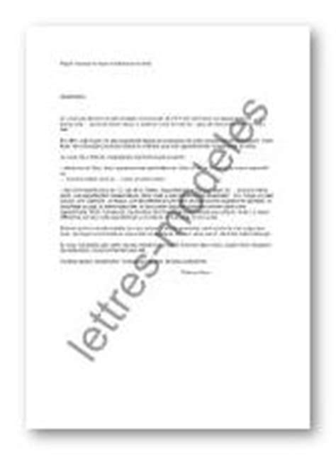 Modèle et exemple de lettres type : Hausse du loyer à