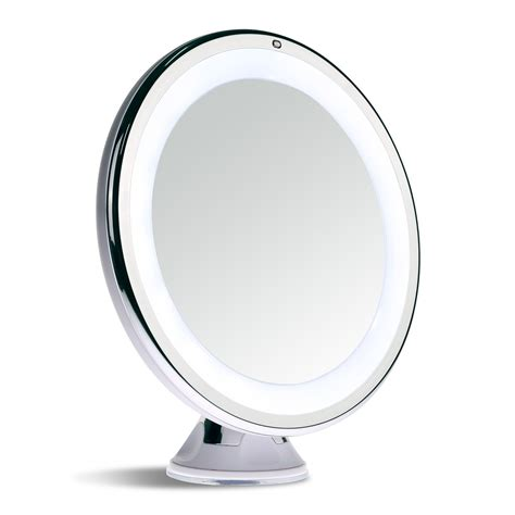 Makeup Mirror With Light by Sanheshun Makeup Mirror 10x Magnifying Lighted Compact With Suction Base Ebay