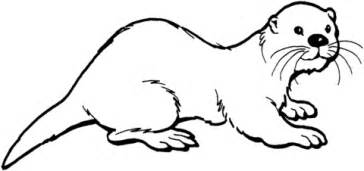 Otter 2 Coloring Page Free Printable Coloring Pages Sea Otter Coloring Page