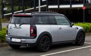 file mini cooper clubman r55 facelift heckansicht 1