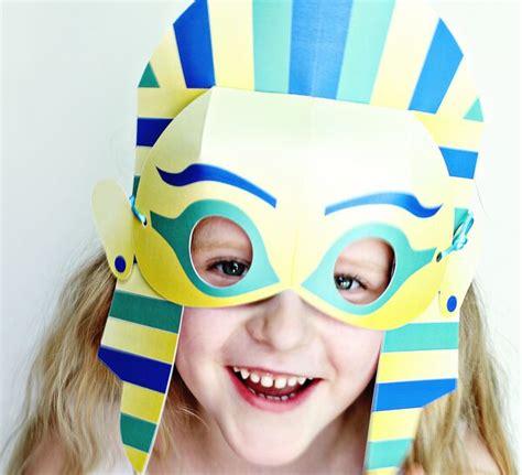 king tut mask template king tut mask craft diy king tut printable mask