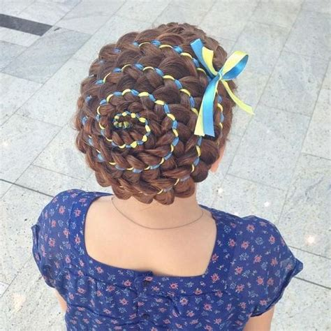 ribbon hairstyles 5 strand ribbon braid hair and tutorials