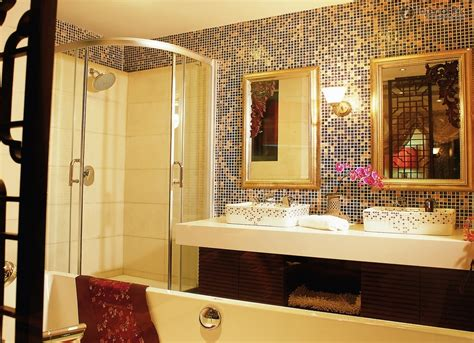 mosaic tiles bathroom to your guests