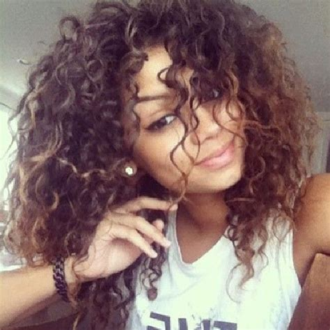 mixed girls with curly hair big curly hair colombiana pinterest my hair