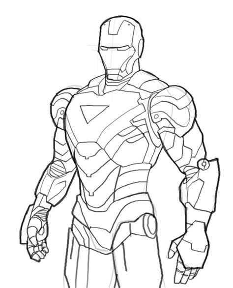 Big Iron Man Coloring Pages | big iron man coloring pages