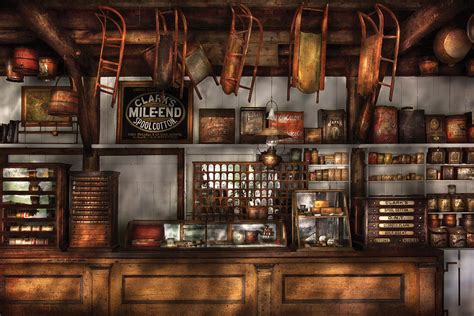 store old fashioned super store by mike savad