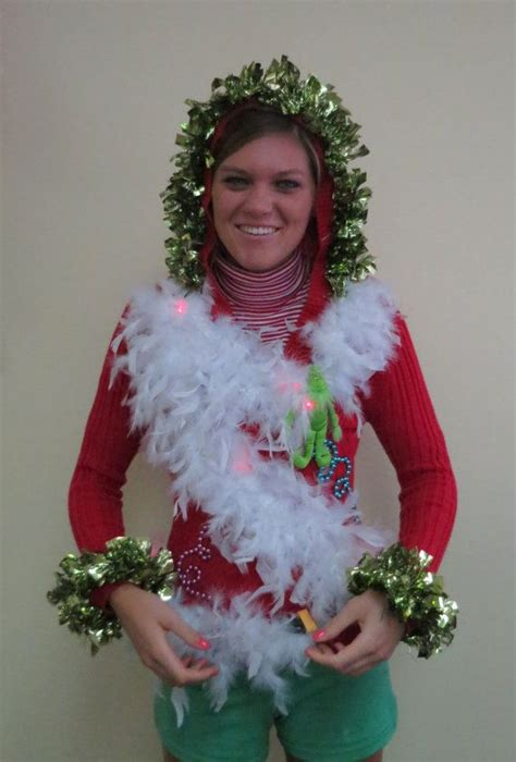 the grinch sweater with lights 514 best images about ugly christmas sweater on pinterest