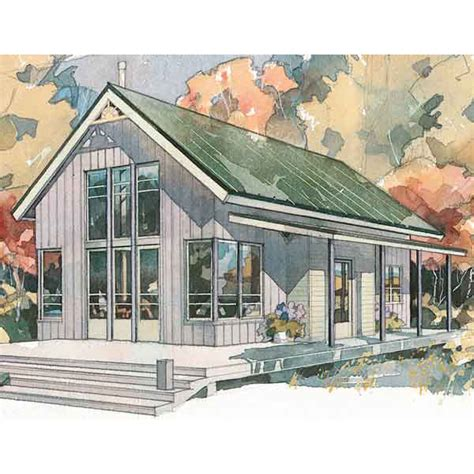 Simple Cottage House Plans by 6 Beach House Plans That Are Less Than 1 200 Square Feet