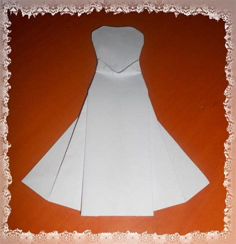Origami Wedding Dress - origami wedding dress images frompo 1
