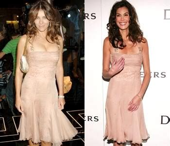 Liz Hurley And Teri Hatcher 27 best wearing the same dress images on
