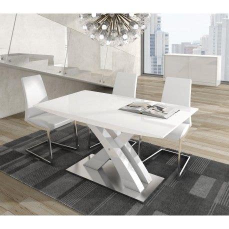 mesa de comedor moderna extensible color blanco mesas de comedor modernas mesas de comedor