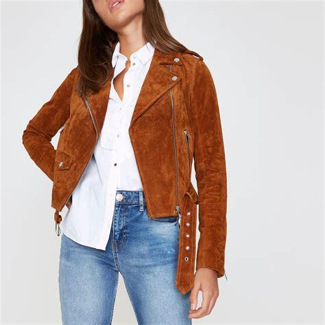 Suede Biker Jacket Coats Jackets Sale