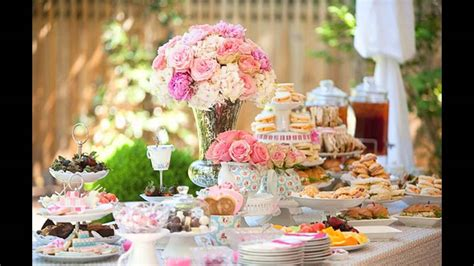 tea party bridal shower ideas youtube