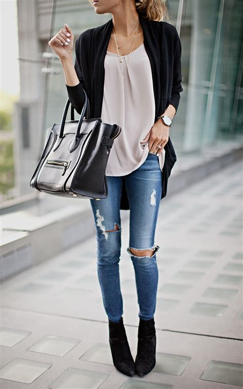 jean outfits on pinterest street style september 2014 just the design