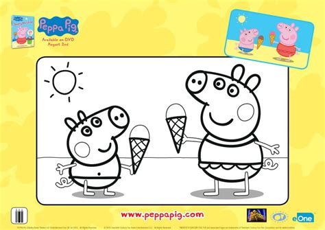 ice cream coloring pages games peppa pig ice cream cones coloring page mama likes this