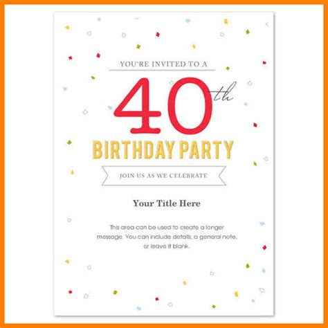 microsoft templates birthday invitations 9 free birthday invitation microsoft word gin education
