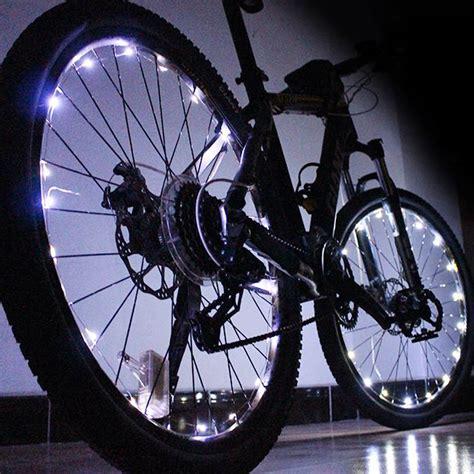 1pcs 20 led colorful shining waterproof bicycle lights