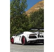 Liberty Walk Lamborghini Aventador Roadster 2Bitchn