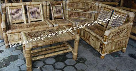kursi sudut kst jual kerajinan bambukerajinan bambu