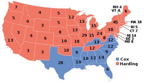 united states presidential election, 1920