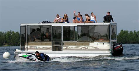 pontoon boat cabin enclosures lexan boat enclosures