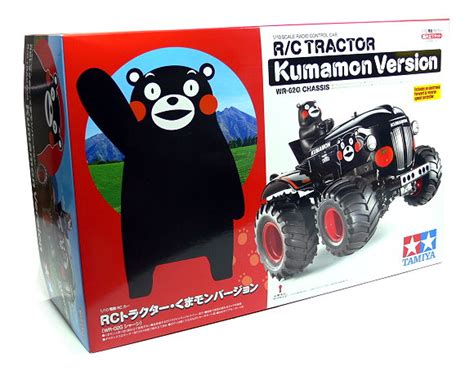 Tamiya 58601 1 10 Rc Tractor Kumamon Version tamiya ep rc car 1 10 kumamon version wr02g chassis
