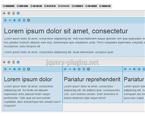 bootstrap visual layout editor grid editor wysiwyg editor for bootstrap grid system