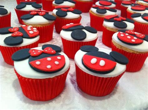 como decorar cupcakes de mickey mouse minnie mickey cupcakes cupcake heaven o