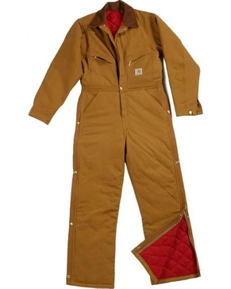 Carhartt Quilt Lined Duck Coveralls by Carhartt S Quilt Lined Duck Coveralls Duck Coveralls