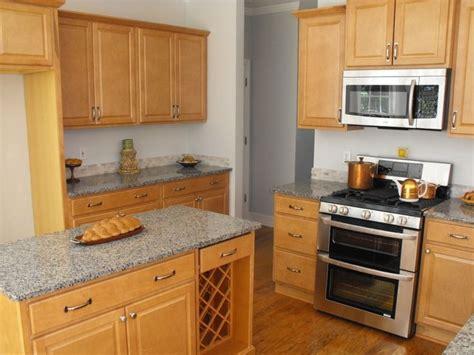 kitchen maple granite countertops needs grey tile