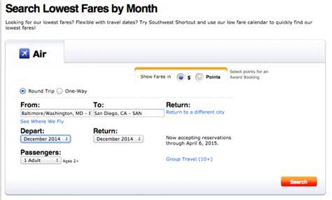 Fare Calendar Search Results For Southwest Low Fare Calendar