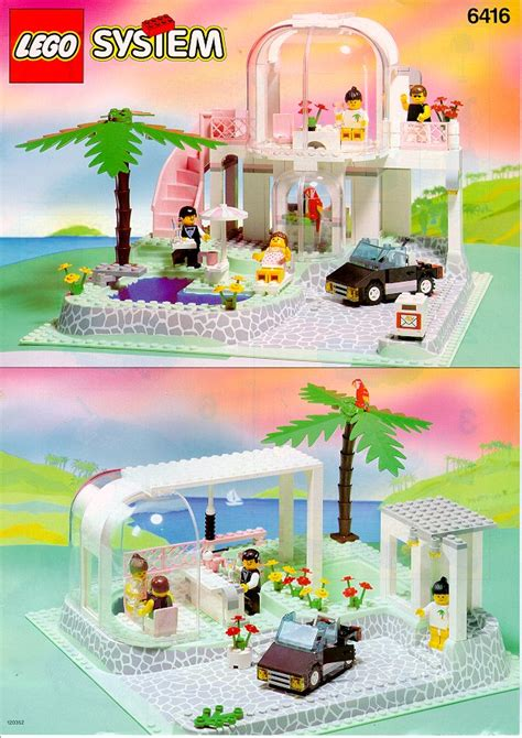 Swimming Pool Companies by Lego Poolside Paradise Instructions 6416 Paradisa