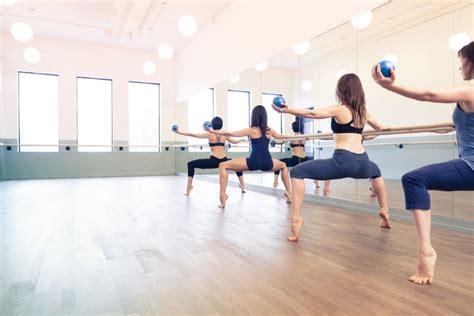 ballet pilates barreworks studio combines ballet dance steps and