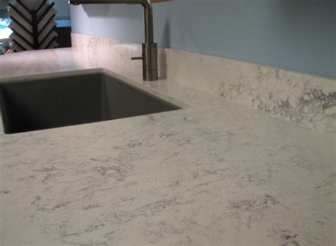 Beautiful Backsplashes Kitchens countertops that look like white marble take two roomology