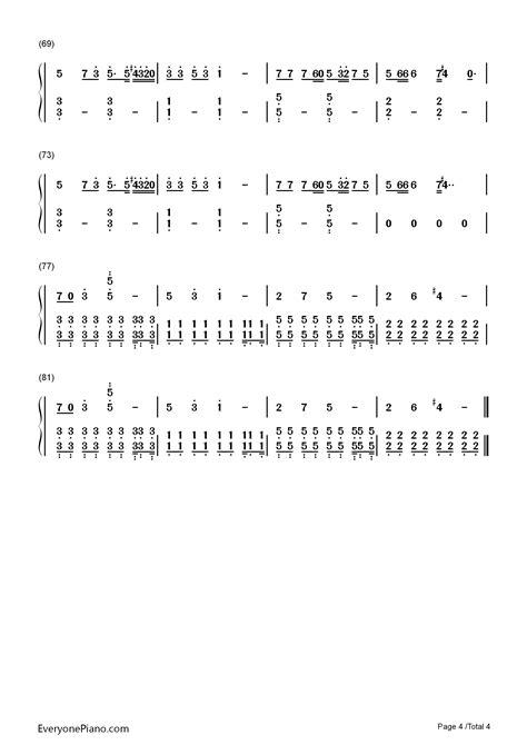 alan walker spectre chords spectre alan walker numbered musical notation preview 4