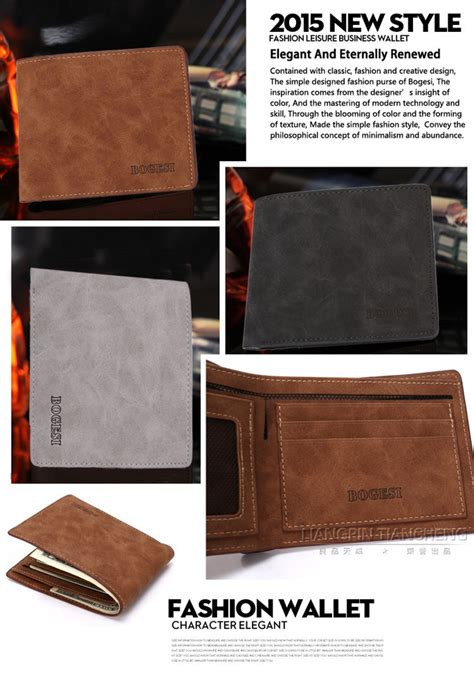 Dompet Kulit Pria Baellerry Casual Design Quality dompet kulit pria desain retro brown jakartanotebook