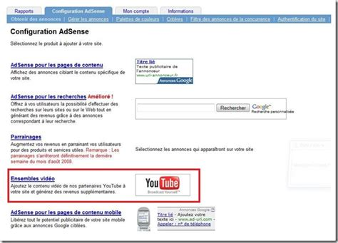 adsense google youtube adsense youtube adsense d 233 barque sur youtube
