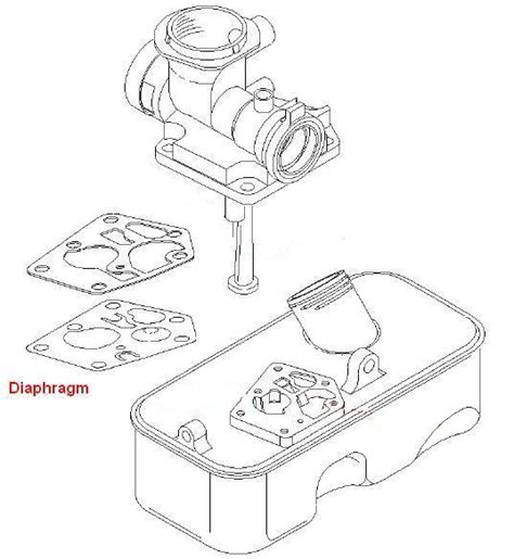 5hp briggs and stratton carburetor diagram briggs stratton carburetor diaphragm kit