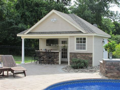 Pool House Shed Plans by Amish Sheds Pool House Creative Shed Plans