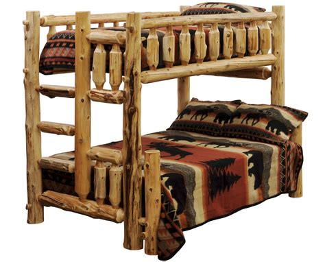 Log Headboards For Beds by Log Bed Img2113 Fr Rustic Log Beds Log Bed Buck