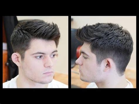 men's haircut tutorial fohawk haircut fade thesalonguy