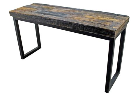 industrial sofa table industrial style console table mexican rustic furniture