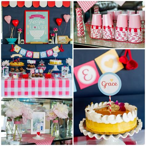 kitchen wedding shower ideas kara s party ideas retro kitchen bridal shower with such
