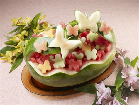 They Been Carving Melons Again by Carve A Watermelon Into A Creative Shape For A Table