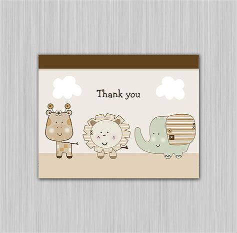 thank you note template baby shower 12 baby shower thank you notes documents in pdf psd sle templates
