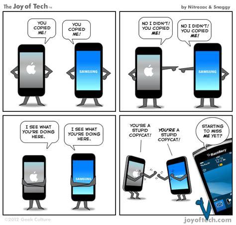 apple vs samsung comic i2mag trending tech news travel and lifestyle magazine i2mag