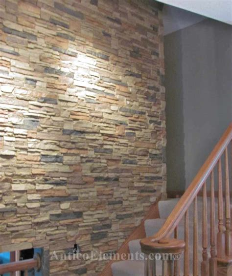 Interior Stone Walls Home Depot by Fake Stone Wall The Blog On Cheap Faux Stone Panels