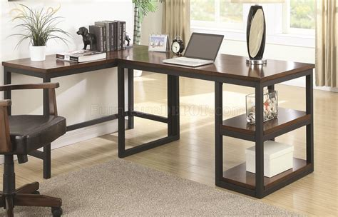 Home Office Desk Options Marple 801241 Home Office Desk 2pc Set By Coaster W Options